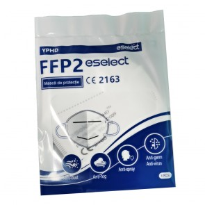 Set 10 bucati Masca de protectie FFP2 / KN95 / N95, 5 straturi, Certificata CE 2163, sigilata individual