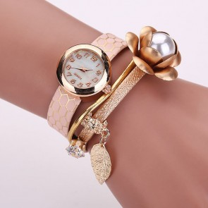 Ceas Dama Quartz Pearly Flower