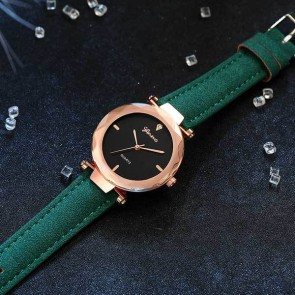 Ceas Dama Quartz Geneva Luscious Leather