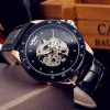 Ceas Automatic Winner Luxury Skeleton Diamond