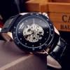 Ceas Automatic Winner Luxury Skeleton Diamond