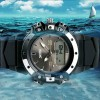 Ceas Sport Quartz Skmei Black Steel