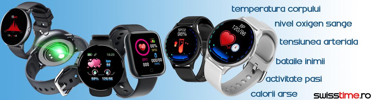Ceasuri inteligente smartwatch cu functii multiple!